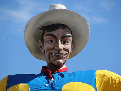 Photograph - Big Tex by Charlie and Norma Brock
