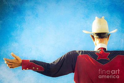Cowboy Hat Photograph - Big Tex Lives On by Sonja Quintero