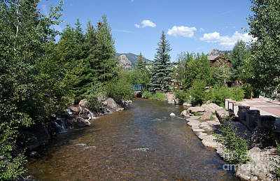 Big Thompson River Photograph - Big Thompson Estes Park by Kay Pickens