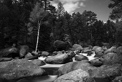 Big Thompson River Photograph - Big Thompson by Scott Rackers