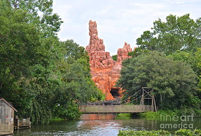 Photograph - Big Thunder Mountain II by Carol  Bradley
