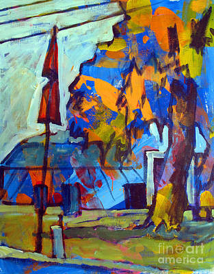 Amateur Painting - Big Top Acrylic Sketch by Charlie Spear