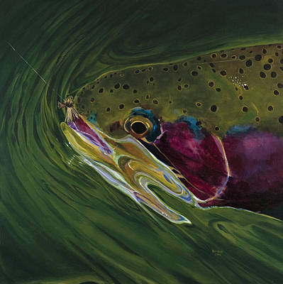 Big Trout II Art Print