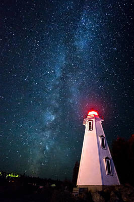 Huron Coast Photograph - Big Tub Lighthouse by Cale Best