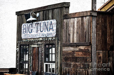 Big Tuna Art Print by John Rizzuto