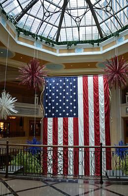 American Photograph - Big Usa Flag 1 by RicardMN Photography