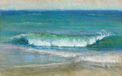 Pastel - Big Wave by Greg Barnes