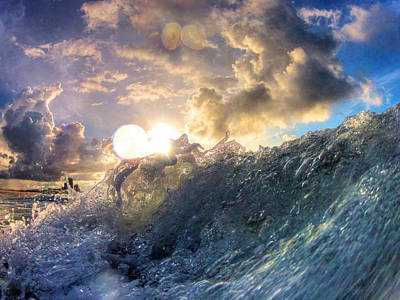 Photograph - Big Wave by Michael Thomas