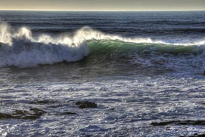 Photograph - Big Wave Santa Cruz by Robert Melvin