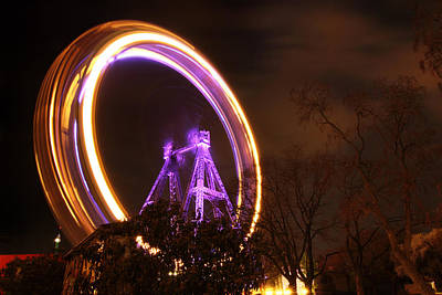 Photograph - Big Wheel - Vienna by Marc Huebner