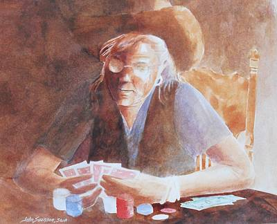 Painting - Big Winner Again by John  Svenson