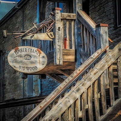 Stair Case Photograph - Big Wood by Paul Freidlund