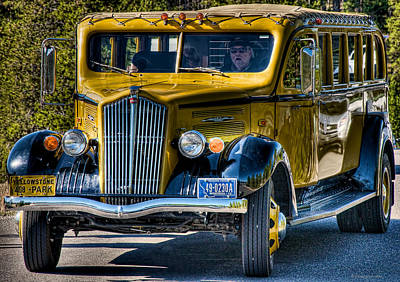 Photograph - Big Yellow Taxi by Britt Runyon