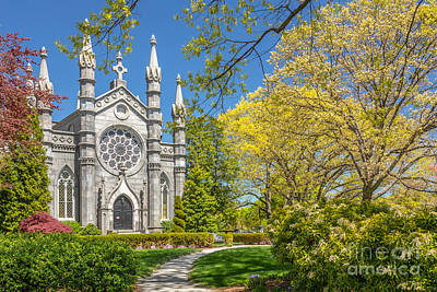 Photograph - Bigelow Chapel At Mount Auburn by Susan Cole Kelly