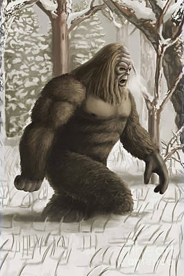 Photograph - Bigfoot by Spencer Sutton