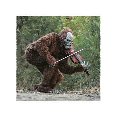 Bigfoot Viola Art Print