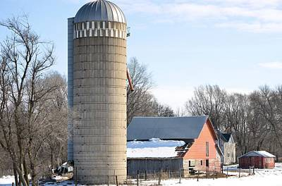 Photograph - Bigger Than The Barn by Bonfire Photography