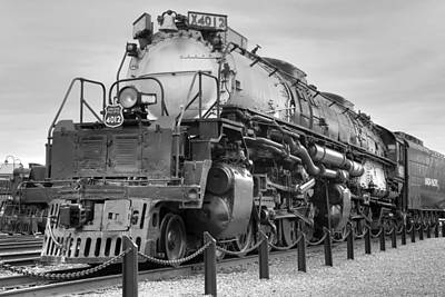 Photograph - Biggest Badest Steam Locomotive Ever by Gene Walls