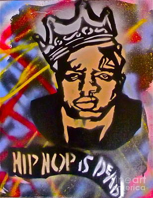 Conscious Painting - Biggie Hip Hop Is Dead by Tony B Conscious