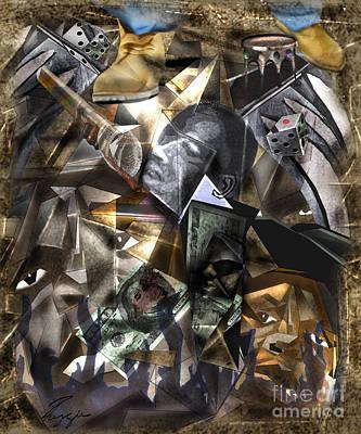 Painting - Biggie In My Shoes by Reggie Duffie