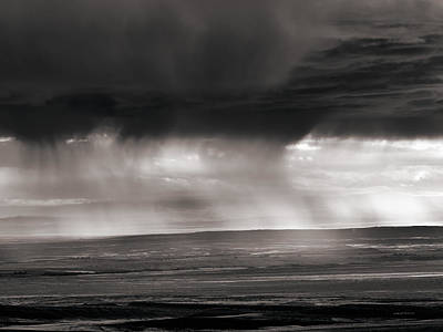 Photograph - Bighorn Basin Rain by Leland D Howard