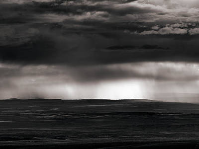 Photograph - Bighorn Basin Shower by Leland D Howard