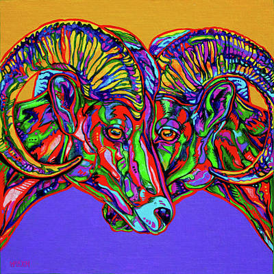 Bighorn Sheep Original by Derrick Higgins