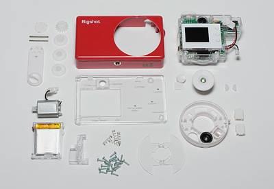 Self Photograph - Bigshot Self-assembly Digital Camera by Maria Platt-evans