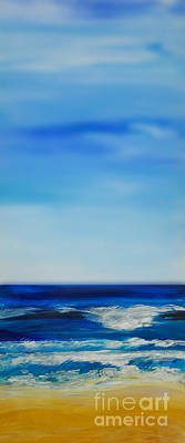 bigSky Beach Art Print