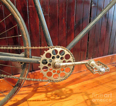 Lucille Ball - Bicycle 1 by Virginia Simmons