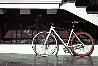 Photograph - Bike by Andrew Raby