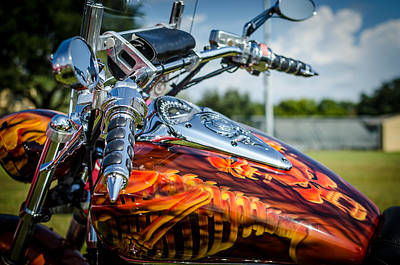 Photograph - Bike Art by David Morefield