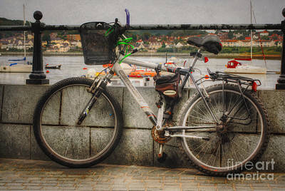 Photograph - Bike At The Harbour by Ian Mitchell