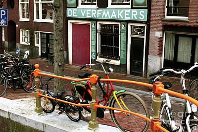 Photograph - Bike Colors by John Rizzuto