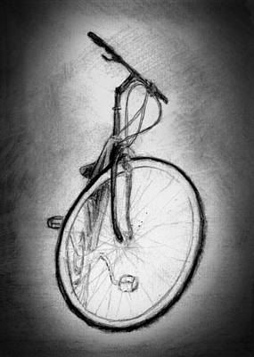 Bike Art Print by Di Fernandes