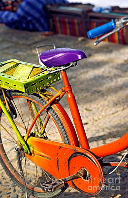 Speed Trials Photograph - Bike by Luciano Mortula