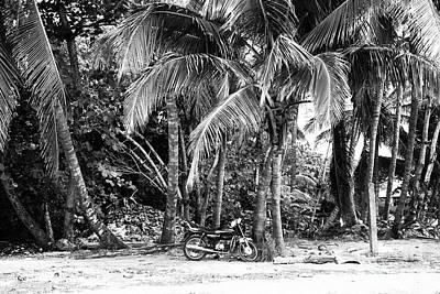 Photograph - Bike On The Beach by John Rizzuto
