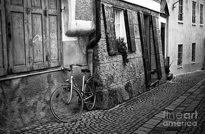 Photograph - Bike Parking In Salzburg by John Rizzuto