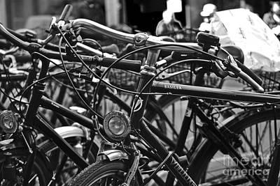 Photograph - Bike Parking In Switzerland by Carlos Alkmin