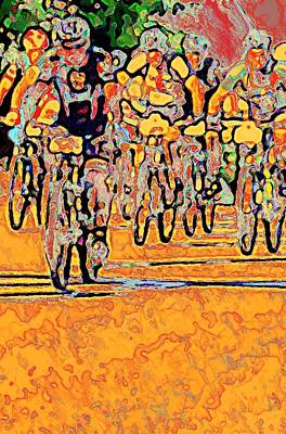Photograph - Bike Race by Stanley Funk
