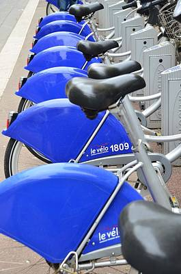 Photograph - Bike Rental In Marseille by Dany Lison