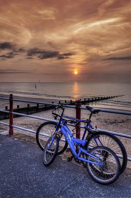 Photograph - Bike Ride At Sunset by Ian Mitchell