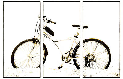 Photograph - Bike. The Triptych by Sergey Kireev