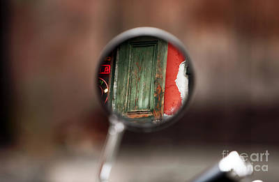 Photograph - Bike View In The French Quarter by John Rizzuto