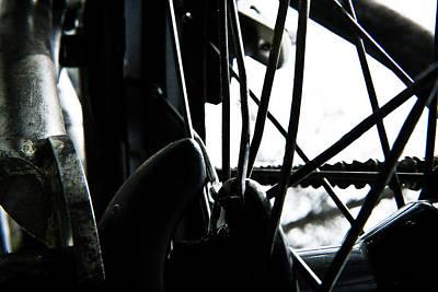 Art Print featuring the photograph Bike Wheel by Joel Loftus