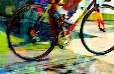 Photograph - Biker by Bob Pardue