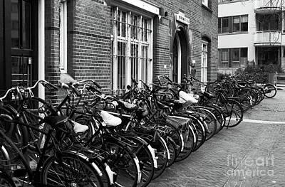 Photograph - Bikes Bikes Bikes by John Rizzuto