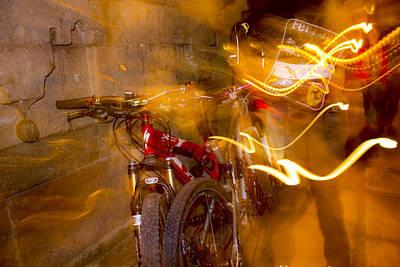 Bikes In San Miguel Art Print