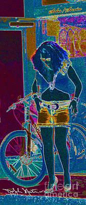 Digital Art - Bikesforrent2  by Art Mantia
