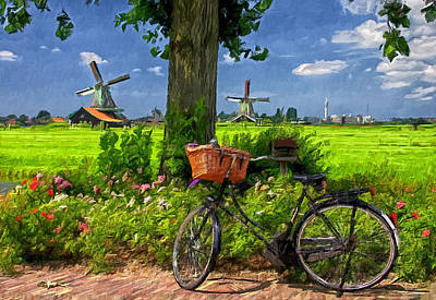 Photograph - Biking Holland by Barbara D Richards